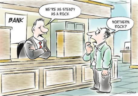 Banks Cartoon