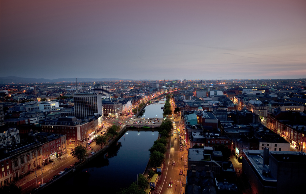 Dublin generates 56% of Irish tax, but can't keep a cent of it