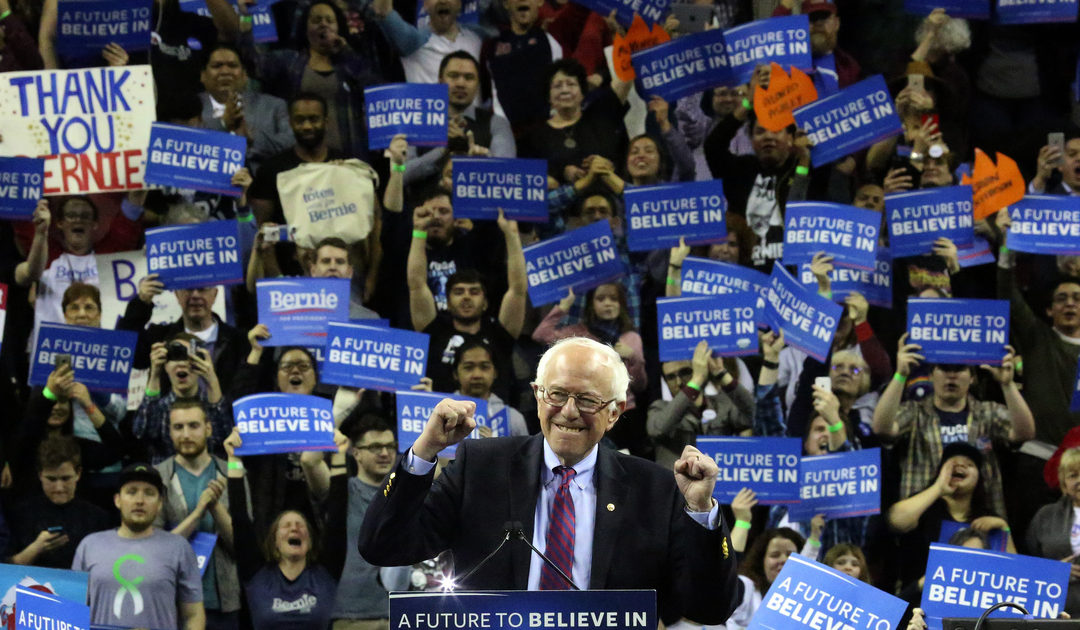Sanders is building a new political movement and could run again