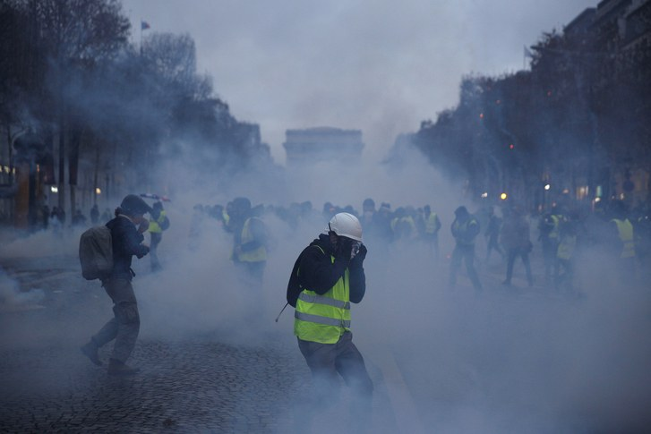 France's unrest shows the limits of economics