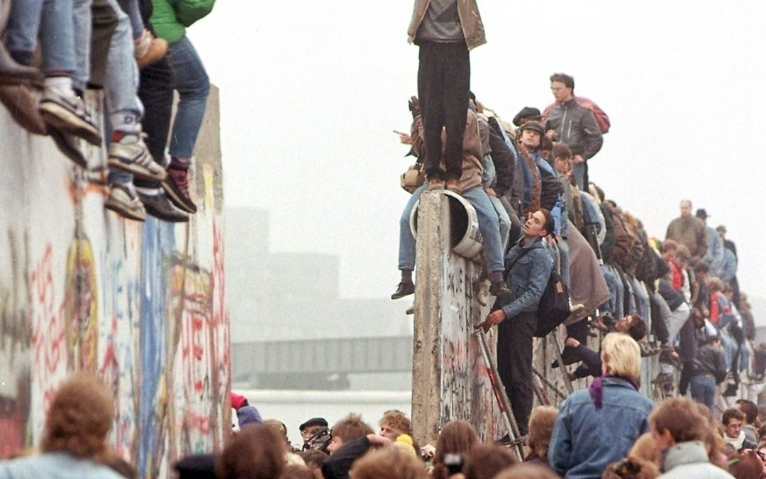 The fall of the Berlin Wall led to the rise of Ireland