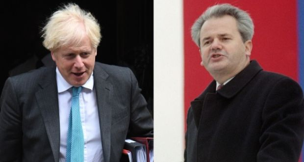 Johnson's UK and Milosevic's Yugoslavia – spot the difference